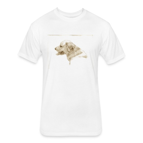 Dog TShirt - Fitted Cotton/Poly T-Shirt by Next Level