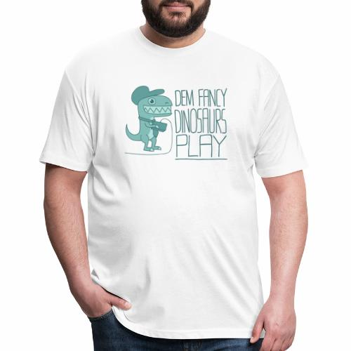 Dem Fancy Games transparent - Fitted Cotton/Poly T-Shirt by Next Level