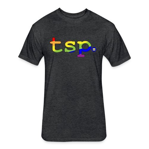 tsp pride updated 01 - Fitted Cotton/Poly T-Shirt by Next Level