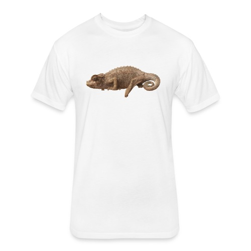 Lone Chameleon - Color - Fitted Cotton/Poly T-Shirt by Next Level