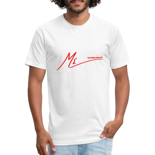 output onlinepngtools 3 - Fitted Cotton/Poly T-Shirt by Next Level