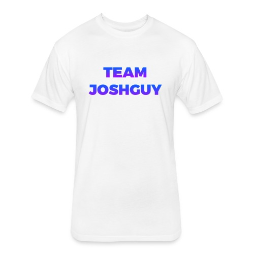 Team JoshGuy - Fitted Cotton/Poly T-Shirt by Next Level