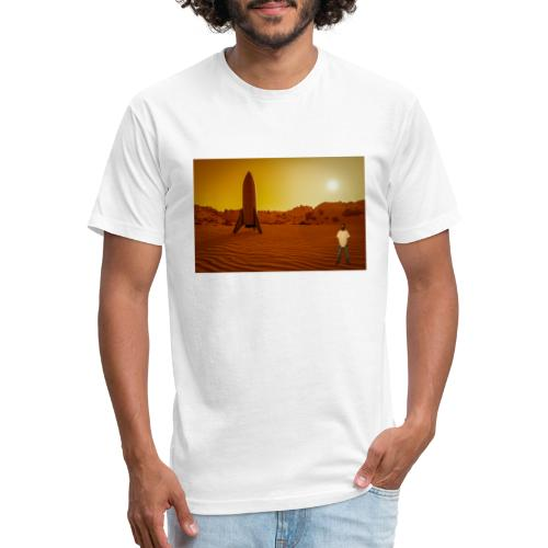 Going Into Space - Fitted Cotton/Poly T-Shirt by Next Level