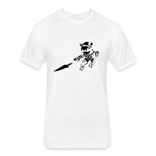 Kennen - Fitted Cotton/Poly T-Shirt by Next Level