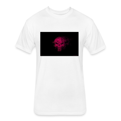 hkar.punisher - Fitted Cotton/Poly T-Shirt by Next Level
