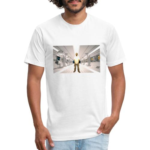 Lothario In Space - Fitted Cotton/Poly T-Shirt by Next Level