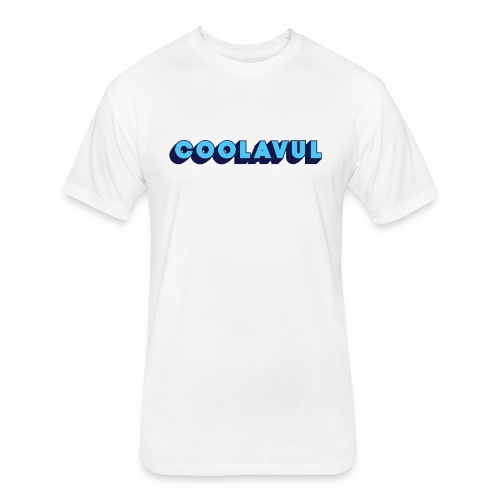 coolavulFunkyBlue - Fitted Cotton/Poly T-Shirt by Next Level