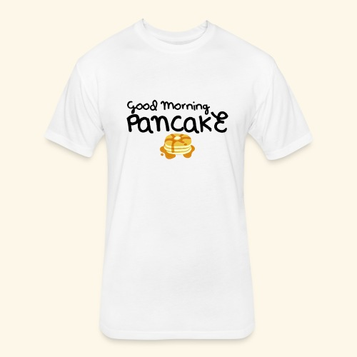 Good Morning Pancake Mug - Fitted Cotton/Poly T-Shirt by Next Level