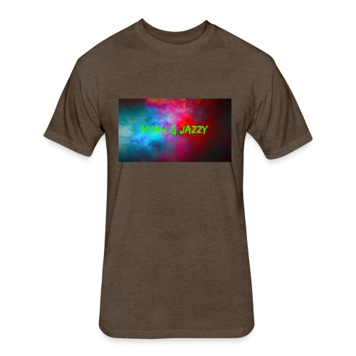 NYAH AND JAZZY - Fitted Cotton/Poly T-Shirt by Next Level