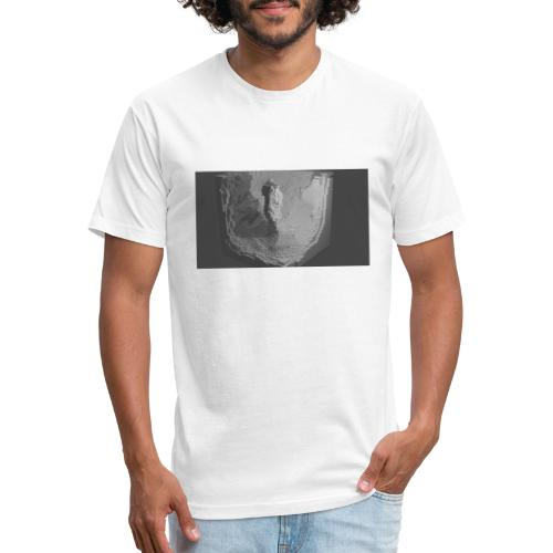rendCubepng - Fitted Cotton/Poly T-Shirt by Next Level