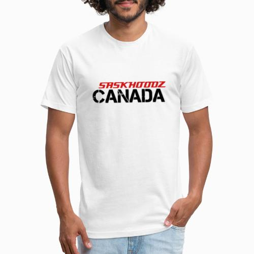 saskhoodz canada - Fitted Cotton/Poly T-Shirt by Next Level