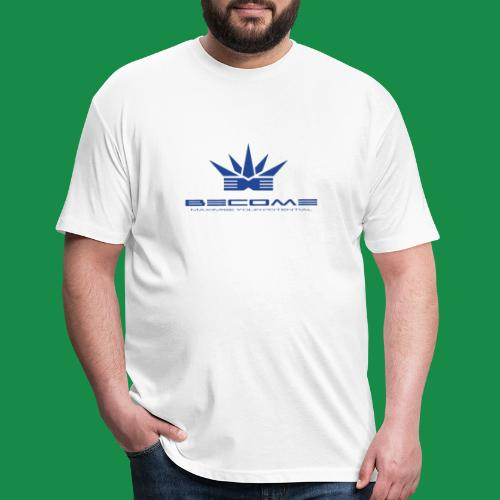makare BLUE - Fitted Cotton/Poly T-Shirt by Next Level