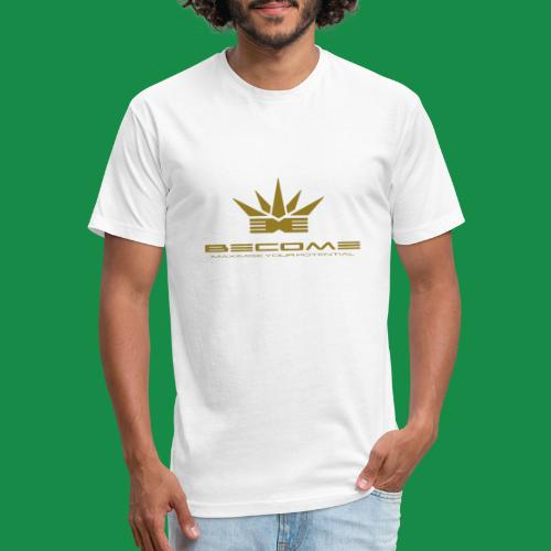 makare GOLD - Fitted Cotton/Poly T-Shirt by Next Level
