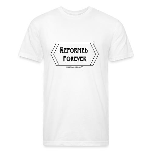 Reformed Forever [Noir] - T-shirt ajusté poly/coton pour hommes