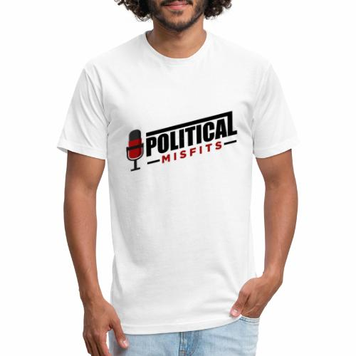 Political Misfits Basic - Fitted Cotton/Poly T-Shirt by Next Level