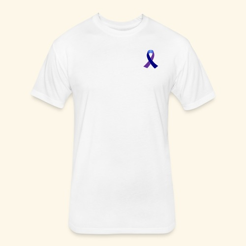 Arthritis Awareness - Fitted Cotton/Poly T-Shirt by Next Level