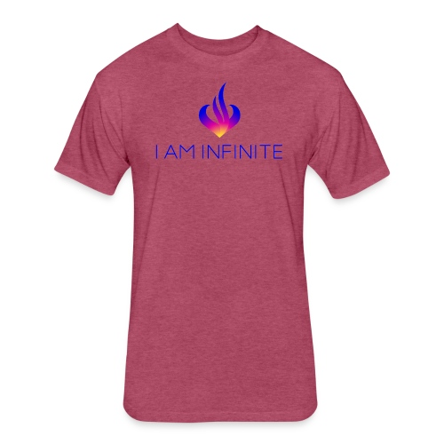 I Am Infinite - Fitted Cotton/Poly T-Shirt by Next Level