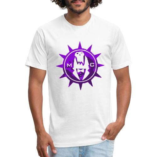Vector MC Logo 2 colors V2 - Fitted Cotton/Poly T-Shirt by Next Level