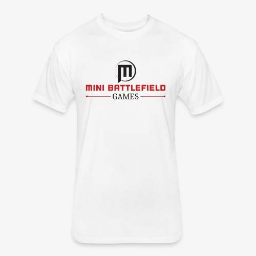 Mini Battlefield Games Logo - Fitted Cotton/Poly T-Shirt by Next Level