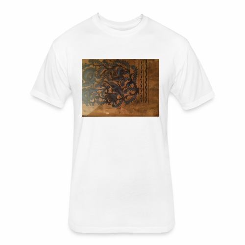 Dilfliremanspiderdoghappynessdogslikeitverymuchtha - Fitted Cotton/Poly T-Shirt by Next Level