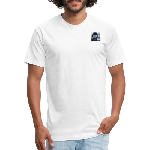 something - Fitted Cotton/Poly T-Shirt by Next Level