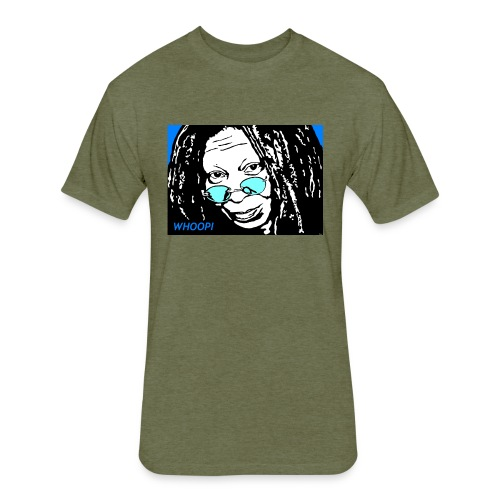 WHOOPI - Fitted Cotton/Poly T-Shirt by Next Level
