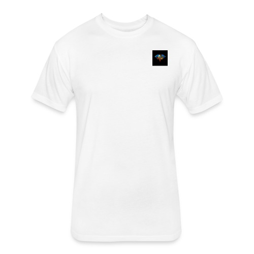 kingsman dimond - Fitted Cotton/Poly T-Shirt by Next Level