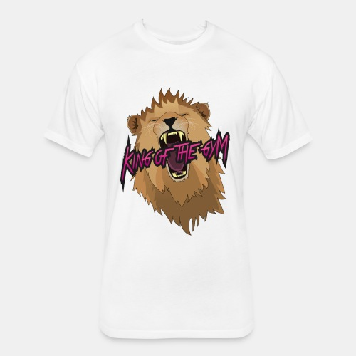 KOTG Lion - Fitted Cotton/Poly T-Shirt by Next Level