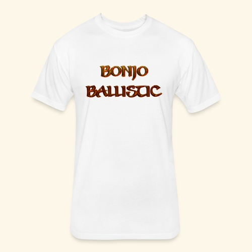 BonjoBallistic - Fitted Cotton/Poly T-Shirt by Next Level