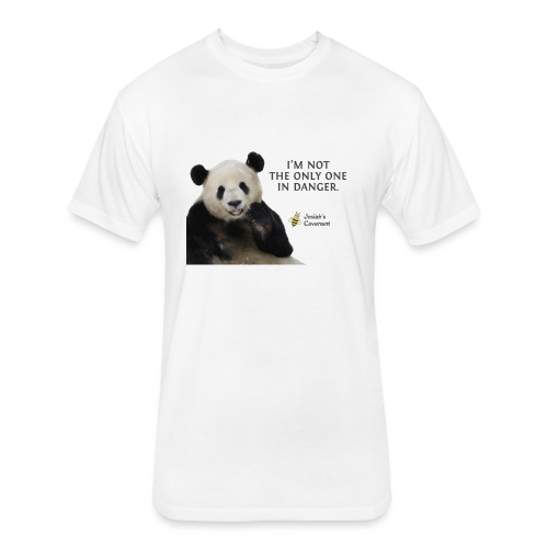 Endangered Pandas - Josiah's Covenant - Fitted Cotton/Poly T-Shirt by Next Level