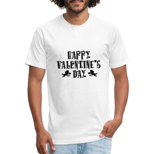 vALENTINE - Fitted Cotton/Poly T-Shirt by Next Level