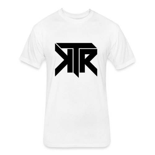 KTR Logo Black - Fitted Cotton/Poly T-Shirt by Next Level