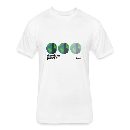 There Is No Planet B - Fitted Cotton/Poly T-Shirt by Next Level