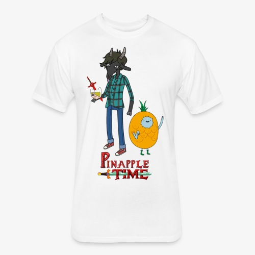 Pinapple Time Inside Joke T-Shirt - Fitted Cotton/Poly T-Shirt by Next Level
