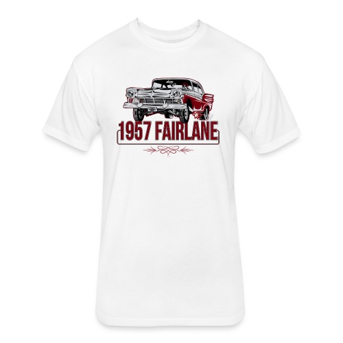 Twisted Farlaine 1957 Gasser - Fitted Cotton/Poly T-Shirt by Next Level