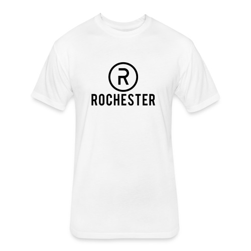 Rochester v1 White Series - Fitted Cotton/Poly T-Shirt by Next Level