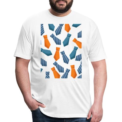 HAPPY FATHERS DAY - Fitted Cotton/Poly T-Shirt by Next Level