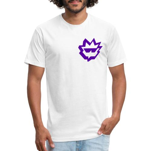 Phlash crest Twitch - Fitted Cotton/Poly T-Shirt by Next Level