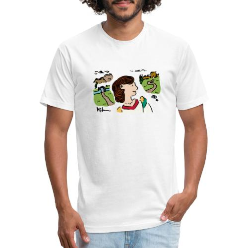 Italian Princess - Fitted Cotton/Poly T-Shirt by Next Level