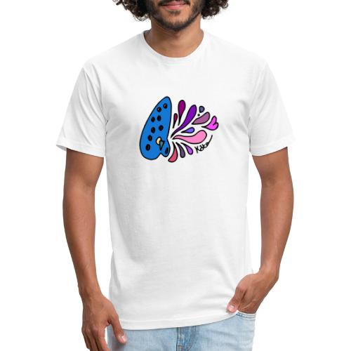 Mystical Ocarina - Fitted Cotton/Poly T-Shirt by Next Level
