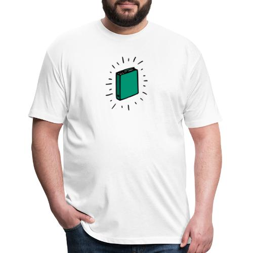 Book - Fitted Cotton/Poly T-Shirt by Next Level