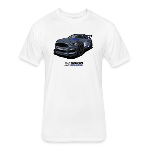 S550 GT4 - Fitted Cotton/Poly T-Shirt by Next Level