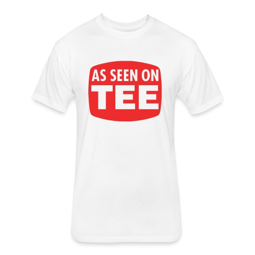 As Seen On Tee - Fitted Cotton/Poly T-Shirt by Next Level