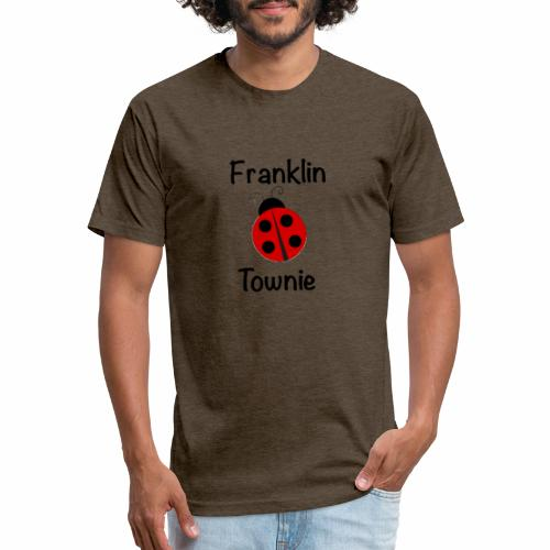 Franklin Townie Ladybug - Fitted Cotton/Poly T-Shirt by Next Level