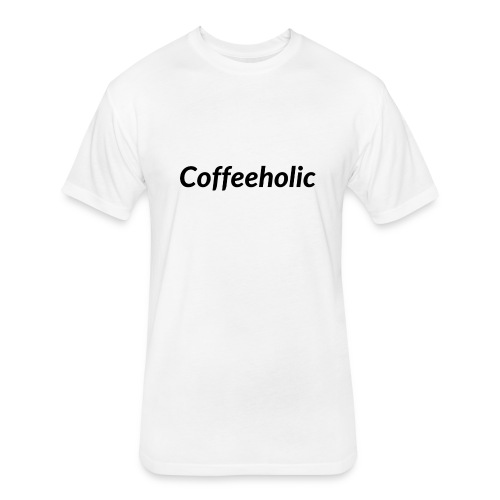 Coffeeholic line - Fitted Cotton/Poly T-Shirt by Next Level