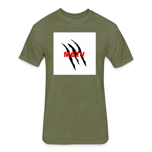 MGTV merch - Fitted Cotton/Poly T-Shirt by Next Level