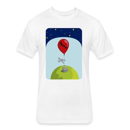 dreams balloon and society 2018 - Fitted Cotton/Poly T-Shirt by Next Level
