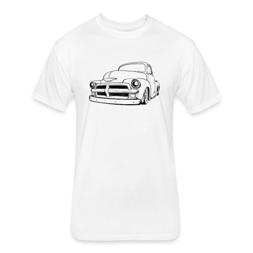 1954 Custom Truck - Fitted Cotton/Poly T-Shirt by Next Level