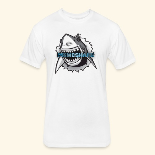 Shark attack - Fitted Cotton/Poly T-Shirt by Next Level