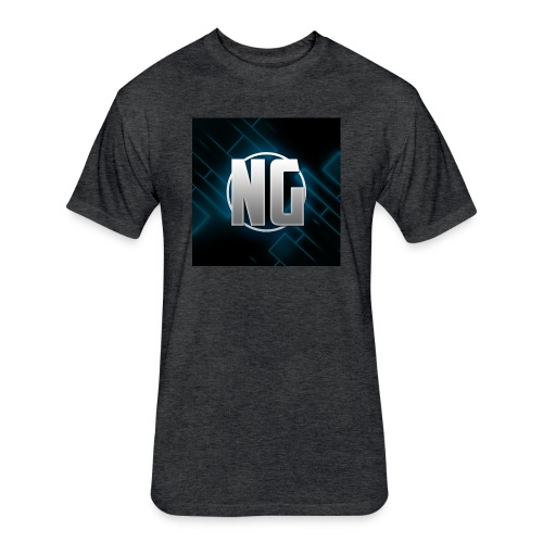 NadhirGamer Merch - Fitted Cotton/Poly T-Shirt by Next Level